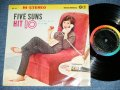 "ファイブ・サンズ FIVE SUNS - ヒット10 HIT 10 / 1962  JAPAN ORIGINAL Used 10"" LP"