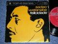 """渡辺貞夫 SADAO WATANABE -  フェリシダード FELICIDADE /  1960's  JAPAN ORIGINAL Used 7""""EP"""