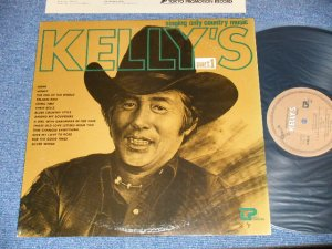 画像1: 寺本圭一 KEIICHI TERAMOTO   - KELLY'S  Part 1 : SINGING ON LY COUNTRY  / 1970's? JAPAN ORIGINAL INDIES Used LP  With sopme AUTOGRAPHED SIGN