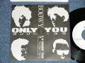 "BOOWY - ONLY YOU (MINT-/MINT)/ 1986 JAPAN ORIGINAL ""PROMO ONLY""  Used 7"" Single"