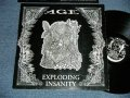 "AGE - EXPLODING INSANITY ( Ex+/MINT-) /  1999 JAPAN ORIGINAL Used 45rpm 12"" EP"