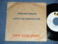 "オフコース OFF COURSE - ENDLESS NIGHT : LOVE'S DETERMINATION ( Ex++/MINT-) / 1985  JAPAN ORIGINAL ""PROMO ONLY""  Used 7""Single"