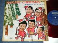 "鈴木 章治とリズム・エース SHOJI SUZUKI HIS RHYTHM ACES - SWINGIN' CHRISTMAS  ( Ex/Ex++ )  1960's JAPAN ORIGINAL RED Wax Vinyl Used 10""LP  赤盤"