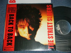 "画像1: ストリート・スライダーズ The STREET SLIDERS - BACK TO BACK  ( MINT/MINT)   /1986 JAPAN ORIGINAL Used 12"" with OBI"