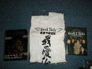 画像1: ダックテイルズ DUCKTAILS - 軌跡 DUCKTAILS in CLUB CHITTA' KAWASAKI (MINT-/MINT)  / 2003 JAPAN ORIGINAL  Used  DVD + T-SHIRT