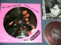 The STAR CLUB スター・クラブ -   THE VERY BEST OF  : KINGS OF PUNK : Picture Disc  (with FLEXI Disc ソノシート付) ( MINT-/MINT-) / 1987 JAPAN ORIGINAL Used LP
