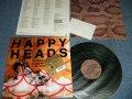 忌野清志郎 & THE RAZER SHARPS  KIYOSHIRO IMAWA of  SUCCESSION -  ハッピーヘッズ ライヴ・イン・ジャパン HAPPY HEADS  LIVE IN JAPN  (MINT/MINT) / 1987 JAPAN ORIGINAL  Used LP