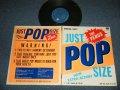 """VENUS ヴィーナス - ジャスト・ポップ・サイズ JUST POP SIZE (Ex+/Ex+++)  / 1982 JAPAN ORIGINAL  Used 10"""" LP"""