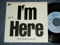 "小比類巻かほる KAHORU KOHIRUIMAKI - A) I'M HERE (Promo Short Version )  B) I'M HERE (Promo Short Version ) (Ex++/MINT- WOFC)  1987 JAPAN ORIGINAL ""PROMOOnly""  Used  7"" Single"
