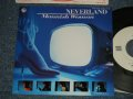 "NEVERLAND ネヴァーランド - A) MANNISH WOMAN  B) PARIS at 16 (MINT/MINT) / 1985 JAPAN ORIGINAL ""WHITE LABEL PROMO"" Used7""Single"