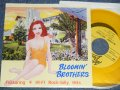 "BLOOMIN' BROTHERS ブルーミン・ブラザーズ - FEATURING 4 HI-FI ROCK-BILLY HITS (MINT-/MINT-) / 1993 JAPAN ORIGINAL ""YELLOW WAX Vinyl"" Used 7"" EP"