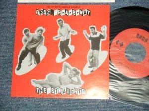 """画像1: ストレイツ The STRAIGHTS - A) BROS.  B) ROCK A BILLY WAY (MINT-/MINT-) /  JAPAN ORIGINAL Used 7"""" Single"""