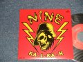 "NINE  - A) 快感 KA I KA N  B)Cat Walk  (NEW ) / 2002 JAPAN ORIGINAL ""Brand New""  7"" Single"