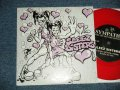 "SLEEZE SISTERS A) SLEEZE SISTERS(THEME)  B) SICK ON YOU  (MINT-/MINT-)  /  JAPAN ORIGINAL ""RED WAX Vinyl"" Used 7"" Single"