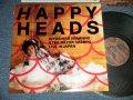 忌野清志郎 & THE RAZER SHARPS  KIYOSHIRO IMAWA of  SUCCESSION -  ハッピーヘッズ ライヴ・イン・ジャパン HAPPY HEADS  LIVE IN JAPN  (Ex++/MINT) / 1987 JAPAN ORIGINAL  Used LP