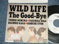 "The Good-Bye - A) WILD LIFE  B) TRUE LOVE (Ex++/Ex+++, MINT- STOFC)  / 1989 JAPAN ORIGINAL ""PROMO ONLY"" Used 7"" Single"