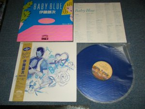 "画像1: 伊藤銀次  GINJI ITO - BABY BLUE (MINT-/MINT-)  / 1982 Japan ORIGINAL ""BLUE WAX Vinyl"" Used LP with Obi  オビ付"