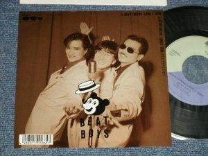 """画像1: ビート・ボーイズ(アルフィー)BEAT BOYS (ALFEE) - A) HEARTBREAK LONELY RAIN  B) HEARTBREAK LONELY RAIN (KARAOKE)  (MINT-/MINT-) / 1988 JAPAN ORIGINAL Used 7""""45 Single"""