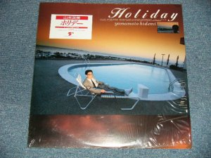 "画像1: 山本英美 HIDEMI YAMAMOTO - ホリデー HOLIDAY (SEALED) / 1987 JAPAN ORIGINAL ""BRAND NEW SEALED"" LP  with SEAL OBI"