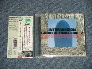 画像1: ゴダイゴ GODAIGO - インターミッションファイナル・ライブ +2 INTERMISSION / GODIEGO FINAL LIVE+2  (MINT-/MIN) / 1995 JAPAN ORIGINAL Used CD with OBI