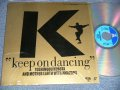 久保田利伸 TOSHINOBU KUBOTA - KEEP ON DANCING (MINT-/MINT Ex+++) / 1990 JAPAN ORIGINAL Used LaserDisc with BOOKLET