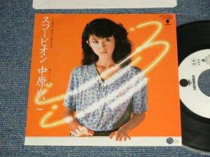 """画像1: 中原めいこ MEIKO NAKAHARA - A) スコーピオン  B)ペパーミントの朝 (MINT/MINT BB for PROMO) / 1983 JAPAN ORIGINAL """"WHITE LABEL PROMO"""" Used 7""""Single"""