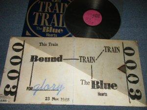 画像1: ブルー・ハーツ THE BLUE HEARTS  - TRAIN TRAIN (With Booklet)(MINT/MINT) / 1988 JAPAN ORIGINAL Used LP