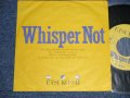 "彩恵津子 ETSUKO SAI - A) WHISPER NOT (Ex++/MINT-) / 1985 JAPAN ORIGINAL ""PROMO ONLY ONE SIDED"" Used 7"" Single"