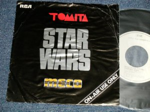 """画像1: A) 冨田勲 ISAO TOMITA / B) MECO - STAR WARS THEME (VG++/Ex+++ WTRDMG) / 1978 JAPAN ORIGINAL """"PROMO ONLY"""" Used 7"""" Single"""