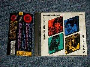 画像1: はっぴいえんど HAPPYEND - LIVE ON STAGE (MINT/MINT) /1989 JAPAN ORIGINAL 1st Press Used CD with OBI