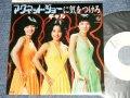 """ギャル GAL - A) マグネット・ジョーに気を付けろ B) 珈琲をいれましょう (MINT-/MINT-) / 1978 JAPAN ORIGINAL """"WHITE LABEL PROMO"""" Used 7"""" Single"""