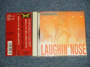 画像1: ラフィン・ノーズ LAUGHIN' NOSE - NEVER TRUST WOMEN (Ex++/MINT) / 1991 JAPAN ORIGINAL Used CD with OBI
