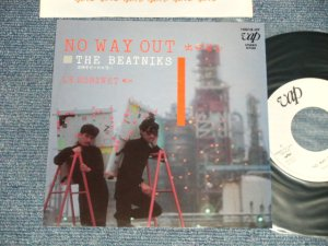 "画像1: ビートニクス THE BEATNIKS (高橋幸宏 YUKIHIRO TAKAHASHI + 鈴木慶一 KEIICHI SUZUKI) - NO WAYOUT 出口なし  B) LE ROBINET (Ex+++/MINT) / 1981 JAPAN ORIGINAL ""WHITE LABEL PROMO"" Used 7"" Single"