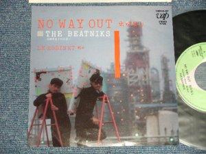 """画像1: ビートニクス THE BEATNIKS (高橋幸宏 YUKIHIRO TAKAHASHI + 鈴木慶一 KEIICHI SUZUKI) - NO WAYOUT 出口なしB) LE ROBINET (Ex+++/MINT) / 1981 JAPAN ORIGINAL Used 7"""" Single"""