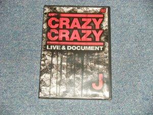 画像1: J - CRAZY CRAZY (MINT/MINT) / 2006 JAPAN ORIGINAL Used DVD