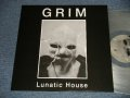 "GRIM (小長谷 淳) - LUNATIC HOUSE (MINT/MINT)/ 2019 EUROPE ORIGINAL ""CLEAR WAX Vinyl"" Used LP"