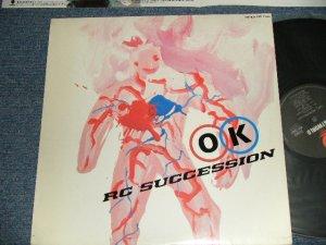 画像1: RCサクセション RC SUCCESSION -  OK (Ex++/MINT-) / 1986 Version JAPAN REISSUE Used LP