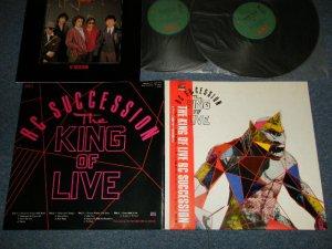 画像1: RCサクセション RC SUCCESSION - THE KING OF LIVE (Ex++/MINT-) / 1983 JAPAN ORIGINAL Used 2-LP's With OBI