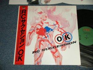 画像1: RCサクセション RC SUCCESSION -  OK (Ex+++/MINT-) / 1983 JAPAN ORIGINAL Used LP