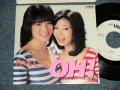 """ピンク・レディ Pink Lady - A) OH! B) 夢中がいちばん美しい (MINT/MINT)  / 1981 JAPAN ORIGINAL """"WHITE LABEL PROMO"""" Used 7"""" Single シングル"""