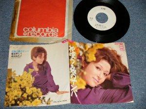 """画像1: 森山加代子 KAYOKO MORIYAMA - A) 花喰う蟲のサンバ  B) 嘘を許して (Ex+/Ex+++ CLOUD) / 1970 JAPAN ORIGINAL """"WHITE LABEL PROMO"""" Used 7""""Single"""