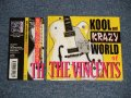 The VINCENTS - KOOL and KRAZY WORLD OF THE VINCENTS (MINT-/MINT) / 2009 JAPAN ORIGINAL 1st Issue Used CD With OBI