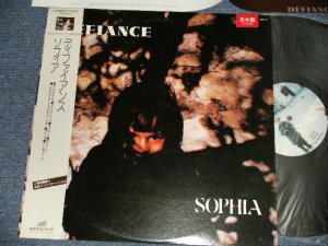 "画像1: SOPHIA ソフィア - DEFIANCE ディファイアンス (Ex++/MINT-) / 1986 JAPANORIGINAL ""PROMO"" Used LP with OBI"