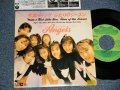 "エンジェルス ANGELS - A)天国ギャング WITH A GIRL LIKE YOU  B)ふたりのシーズン TIME OF THE SEASON (Ex++, MINT-/MINT- STOFC) / 1988 JAPAN ORIGINAL ""PROMO"" Used 7"" Single"