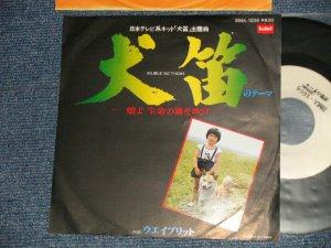 """画像1: ost 大野雄二 YUJI OHNO - A) 犬笛のテーマ   B) ウエイブリット (Ex++/MINT-)  / 1978 JAPAN ORIGINAL """"WHITE LABEL PROMO"""" Used 7"""" Single"""