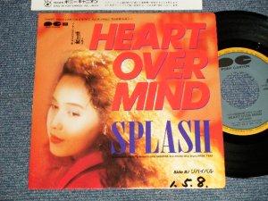 """画像1: SPLASH - A)HEAD OVER MIND  B) リバイバル REVIVAL ((Ex+++/MINT SWOFC) /1989 JAPAN ORIGINAL """"PROMO"""" Used 7"""" Single"""