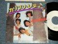 """スーパー・パンプキン SUPER PUMPKIN - A) カリプソ・レディ MOON DANCE AT SEASIDE  B) サンディー SANDY (MINT-/MINT-) / 1978 JAPAN original """"WHITE LABEL PROMO"""" Used 7"""" Single  シングル"""