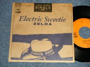 """画像1: ゼルダ ZELDA - A) Electric Sweeter (MINT-/MINT) / 1987 JAPAN ORIGINAL """"ONE-SIDED""""  """"PROMO"""" Used 7"""" Single"""