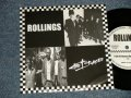 """A)ROLLINGS - I GOT NO REASON : B) The BRACES - THE DESIGNER SONG (Ex++/MINT-) / 2002 JAPAN ORIGINAL Used 7"""" Single"""
