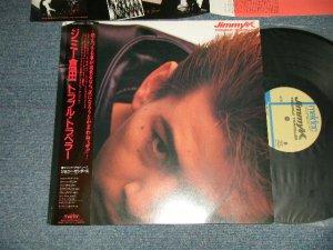 画像1: ジミー倉田 JIMMY KURATA  - トラブル・トラベル TROUBLE TRAVEL (Ex+++/MINT-)/ 1986 JAPAN ORIGINAL used LP With OBI